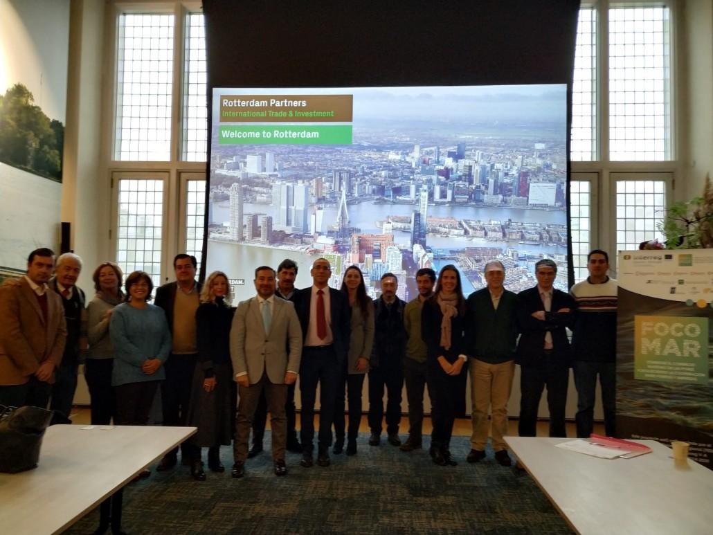 Visita a Rotterdam Partner, una Asociación sin ánimo de lucro que ayuda a que empresas extranjeras se integren en Rotterdam